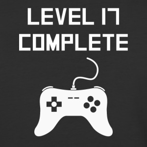Level 17 Complete Video Games 17th Birthday - Baseball T-Shirt
