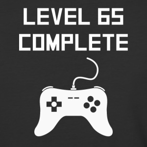 Level 65 Complete Video Games 65th Birthday - Baseball T-Shirt