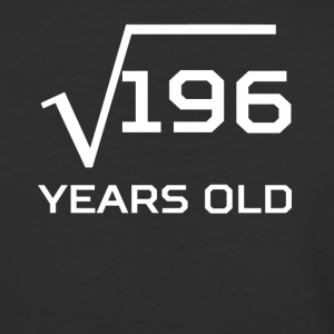 Square Root 196 Funny 14 Years Old 14th Birthday - Baseball T-Shirt