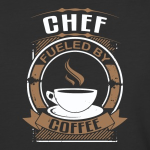 Chef Fueled By Coffee - Baseball T-Shirt