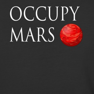 Occupy Mars Space - Baseball T-Shirt