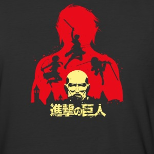 attack on titan - Baseball T-Shirt