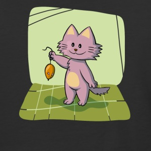 Tom and Jerry - Cat Holding Rat Cartoon - Baseball T-Shirt