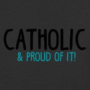 Catholic and Proud of it - Baseball T-Shirt