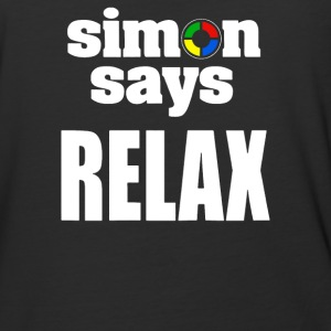 SAYS RELAX - Baseball T-Shirt