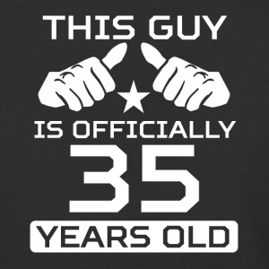 This Guy Is 35 Years Funny 35th Birthday - Baseball T-Shirt