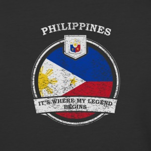 Philippines It's Where My Legend Begins - Baseball T-Shirt