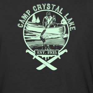 Camp Crystal Lake - Baseball T-Shirt