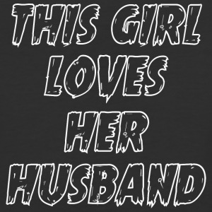 THIS GIRL LOVES HER HUSBAND - Baseball T-Shirt