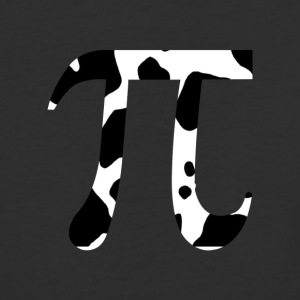 Cow Pi - Baseball T-Shirt