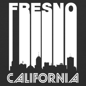 Retro Fresno Skyline - Baseball T-Shirt
