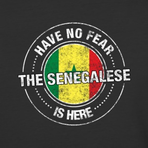 Have No Fear The Senegalese Is Here Shirt - Baseball T-Shirt