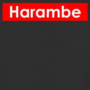 harambe text - Baseball T-Shirt