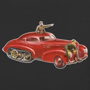 Red Halftrack Coupe - Baseball T-Shirt