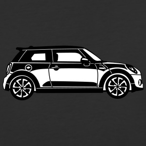 New Mini Cooper - Side View - Baseball T-Shirt