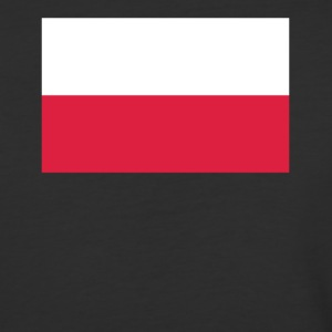 Flag of Poland Cool Polish Flag - Baseball T-Shirt