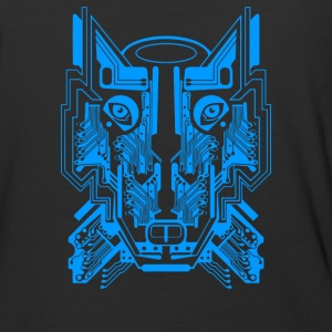 Circuit Wolf - Baseball T-Shirt