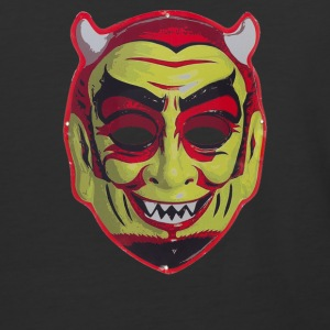 Devil Mask - Baseball T-Shirt