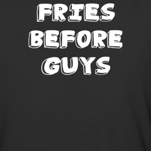 FRIES before GUYS - Baseball T-Shirt