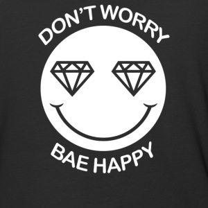 Dont Woerry Be Happy - Baseball T-Shirt