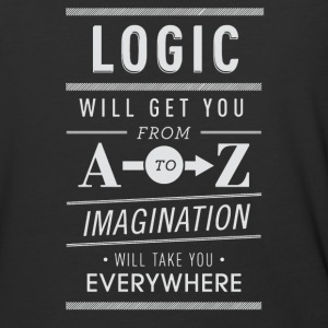 Logic wii get you from imagination - Baseball T-Shirt