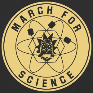 MARCH OF SCIENCE - Baseball T-Shirt