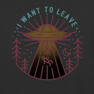 i want to leave - Baseball T-Shirt