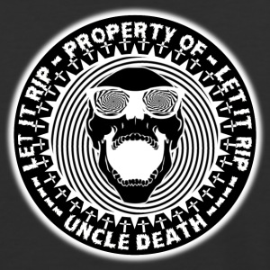 Property Of Uncle Death Let It R.I.P. - Baseball T-Shirt