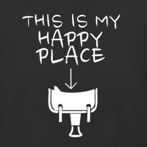 Happy Place Western Riding - Baseball T-Shirt