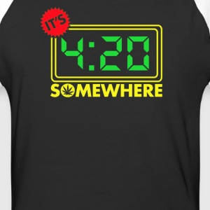It's Four-Twenty Somewhere - Baseball T-Shirt