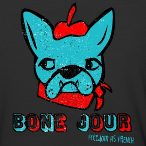 Bone Jour Freedom HS French - Baseball T-Shirt
