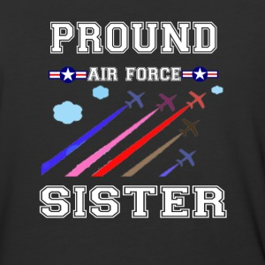 pround air force sister t-shirt - Baseball T-Shirt