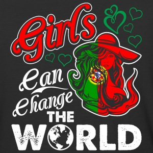 Portuguese Girls Can Change The World - Baseball T-Shirt