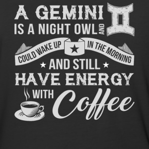 A Gemini Is A Night Owl T Shirt - Baseball T-Shirt