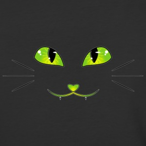 cat's eyes - Baseball T-Shirt