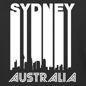 Retro Sydney Skyline - Baseball T-Shirt