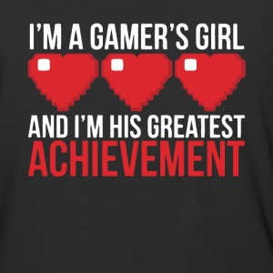 I'm His Greatest Achievement T Shirt - Baseball T-Shirt