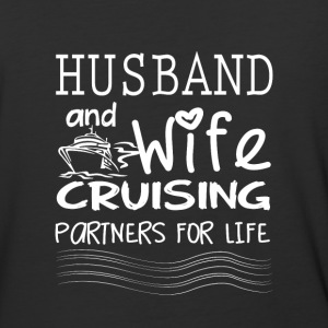 Husband And Wife Cruising Partners For Life TShirt - Baseball T-Shirt