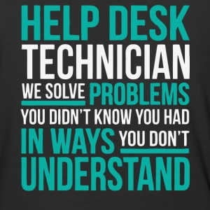 Help Desk Technician T Shirt - Baseball T-Shirt
