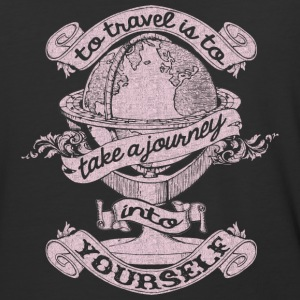 Travel Is To Take A Journey Into Yourself T Shirt - Baseball T-Shirt