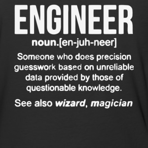 Engineer Noun T Shirt - Baseball T-Shirt