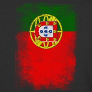 Portugal Flag Proud Portuguese Vintage Distressed - Baseball T-Shirt