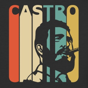 Retro Castro - Baseball T-Shirt