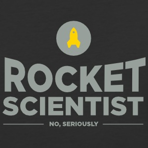 Rocket scientist (no, seriously) - Baseball T-Shirt