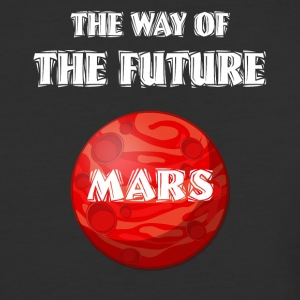 The Way of The Future Mars Space - Baseball T-Shirt