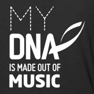 My DNA Is Made Out Of Music T Shirt - Baseball T-Shirt