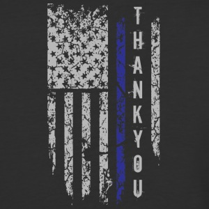 Thank You Thin Blue Line T Shirt - Baseball T-Shirt