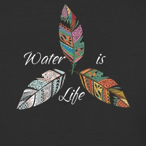 Standing Rock Water is Life No DAPL All Life Tee - Baseball T-Shirt