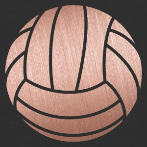 Rose Gold Volleyball - Baseball T-Shirt