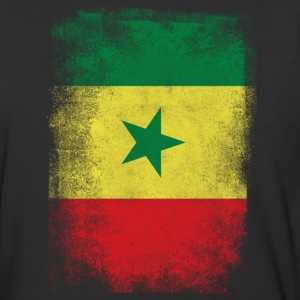 Senegal Flag Proud Senegalese Vintage Distressed - Baseball T-Shirt